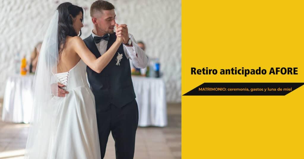 retiro anticipado por matrimonio