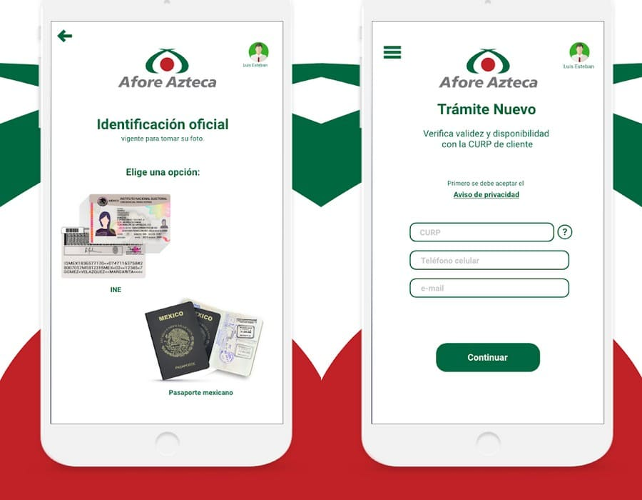 app android afore azteca